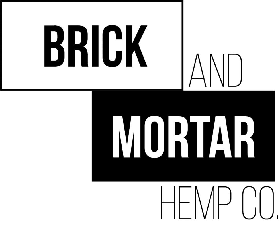 Brick and Mortar Hemp Company Logo- Sheboygan CBD